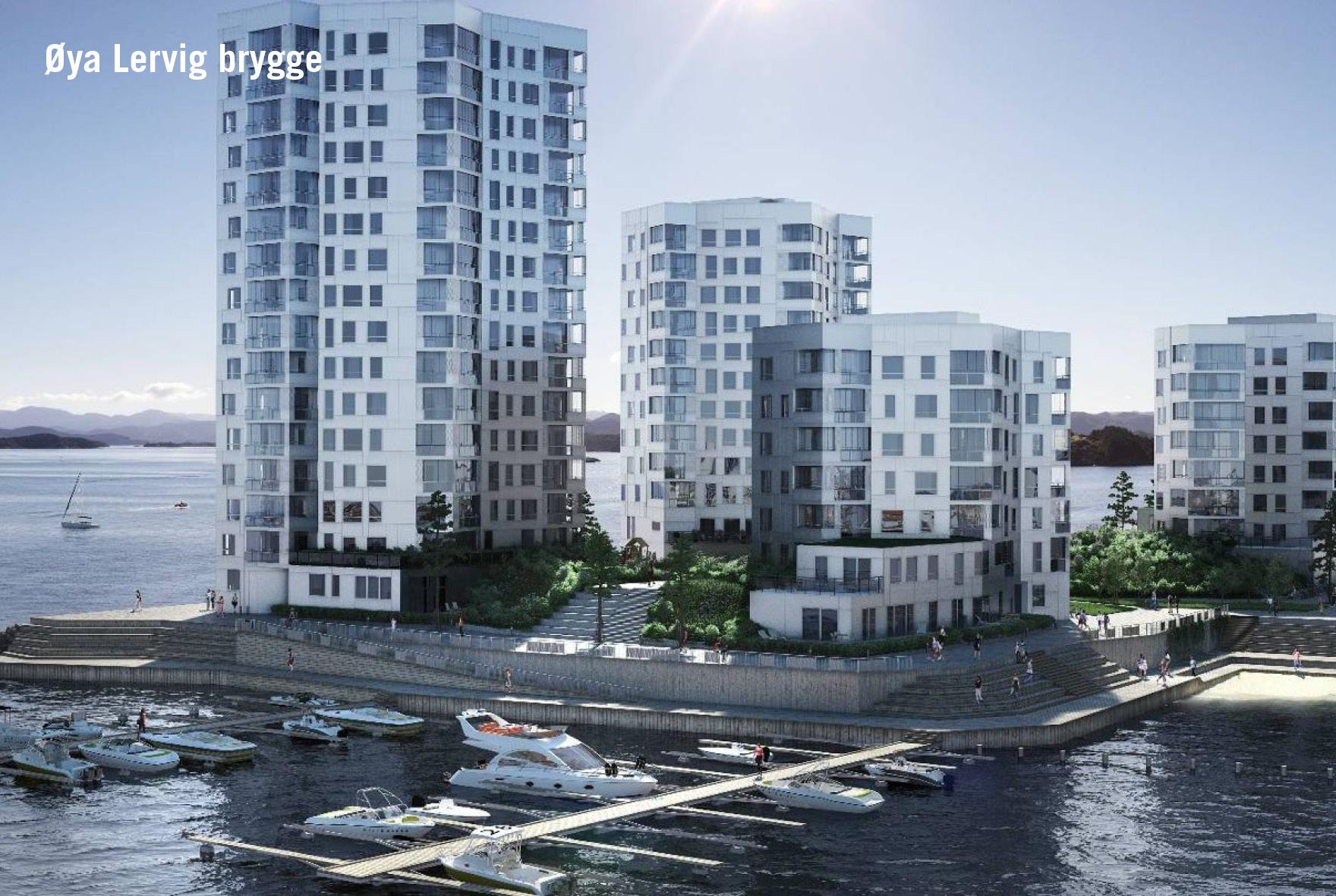 Øya Lervig brygge i Stavanger