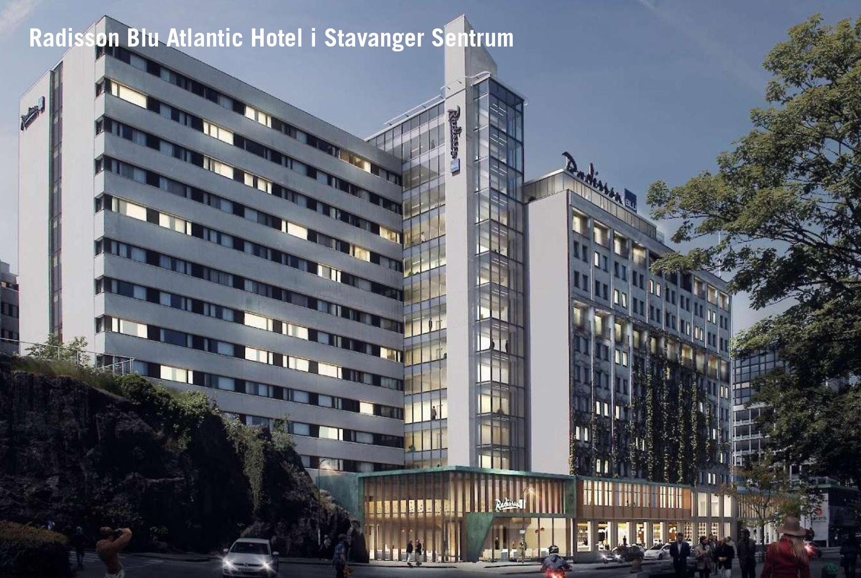 Radisson Blu Atlantic Hotel, Stavanger, VVS, Prefab, Rørlegger